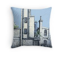 Hughes Lane, Potts Point Throw Pillow