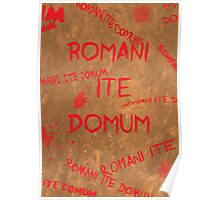 Romans Go Home Poster