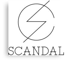 scandal S Canvas Print