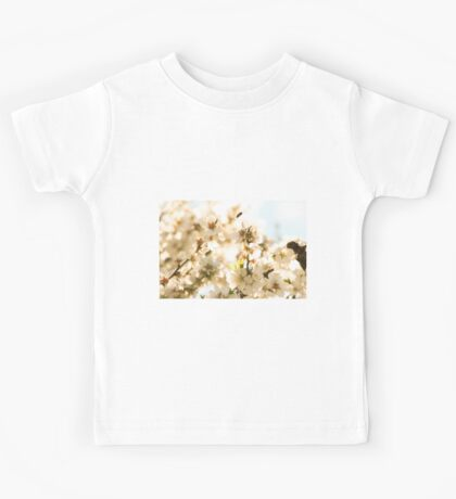 Blossoms and a bee Kids Tee