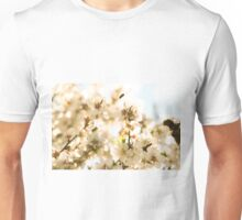 Blossoms and a bee Unisex T-Shirt