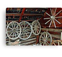 Wheelmaker workshop Canvas Print