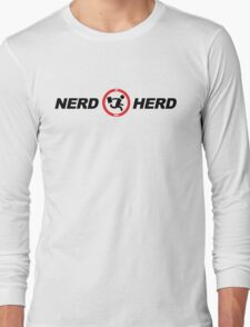 Nerd Herd Logo Chuck Buy More Long Sleeve T-Shirt