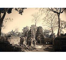 Ta Phrom Temple, Siem Reap Photographic Print
