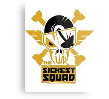 The Sickest Squad Metal Print