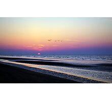 sunrise at Hilton Head, SC Photographic Print