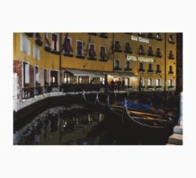 Where the Gondolas Go to Sleep - Bacino Orseolo, Venice, Italy Baby Tee