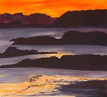 Sunset on Scotland by hilalex