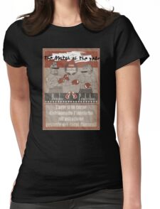 Dandy Vs Punk Womens Fitted T-Shirt
