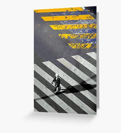 Paris - Crossing Greeting Card