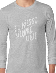 Vasquez's Chest plate motif Long Sleeve T-Shirt