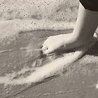 Toes in the water, toes in the sand.... by DDLeach