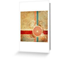 Slice of Citrus Abstract Greeting Card