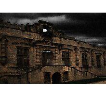 Bolsover Castle Ballroom in The Rain Photographic Print