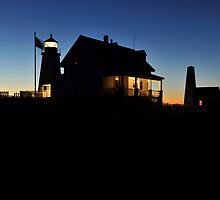 Pemaquid Point Lighthouse, Bristol, ME by Anthony  Romano
