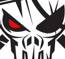 The Sickest Squad B&W Logo Sticker