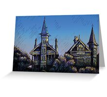 Witches' Houses, Johnston St, Annandale Greeting Card