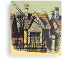 11 Reserve St, Annandale Metal Print