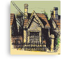11 Reserve St, Annandale Canvas Print