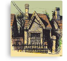 11 Reserve St, Annandale Canvas Print