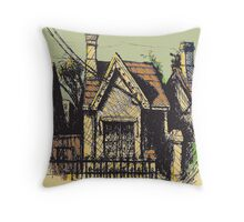 11 Reserve St, Annandale Throw Pillow