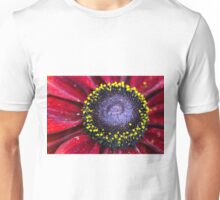 Deep red Rudbeckia Unisex T-Shirt