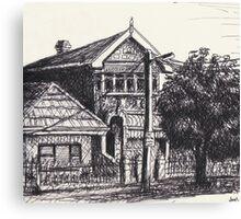 342 Annandale Road, Annandale Canvas Print
