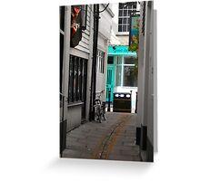 Hastings side street  Greeting Card