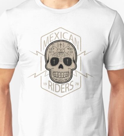 Mexican Riders Unisex T-Shirt