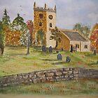 Autumn Churchyard by GEORGE SANDERSON