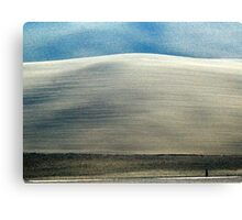 Alone in Tuscany-Pienza Canvas Print