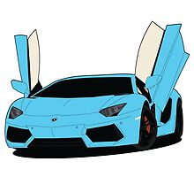 Lamborghini Aventador by VectorGifts