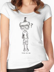nerd party Women's Fitted Scoop T-Shirt