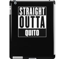 Straight outta Quito! iPad Case/Skin
