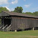 Graham Road Covered Bridge by Monnie Ryan