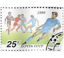 1990 FIFA World Cup stamps of the Soviet Union‎ 1990 CPA 6211 USSR Poster