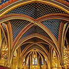 France. Paris. Sainte-Chapelle. The Lower Chapel. by vadim19