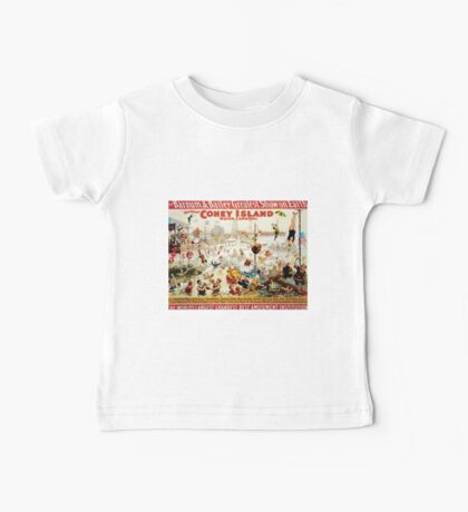 Poster 1890s The great Coney Island water carnival poster for Barnum & Bailey 1898 USSR Baby Tee