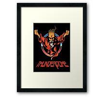 Thunderdome Coloured Logo Framed Print