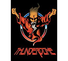 Thunderdome Coloured Logo Photographic Print