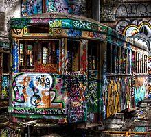 Technicolor Tram by clydeessex