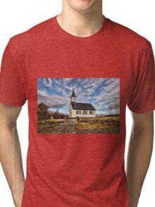 Where the Worlds Meet Tri-blend T-Shirt
