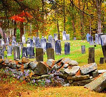 Old Cemetery in New England by bobbi7275