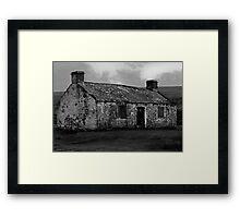 Moorland Ruin Framed Print