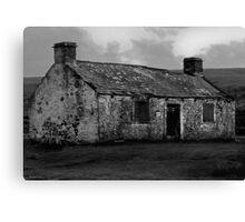 Moorland Ruin Canvas Print