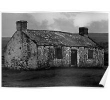 Moorland Ruin Poster