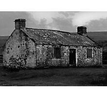 Moorland Ruin Photographic Print