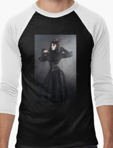 Victorian Vampire Men's Baseball ¾ T-Shirt