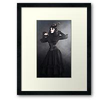 Victorian Vampire Framed Print