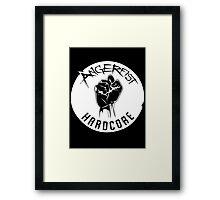 Angerfist Logo Framed Print